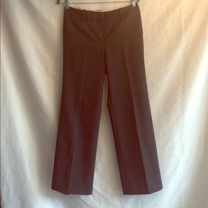 Ann Taylor grey dress slacks size 4P
